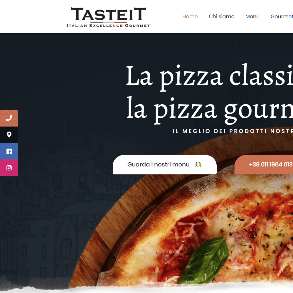 sito web pizzeria